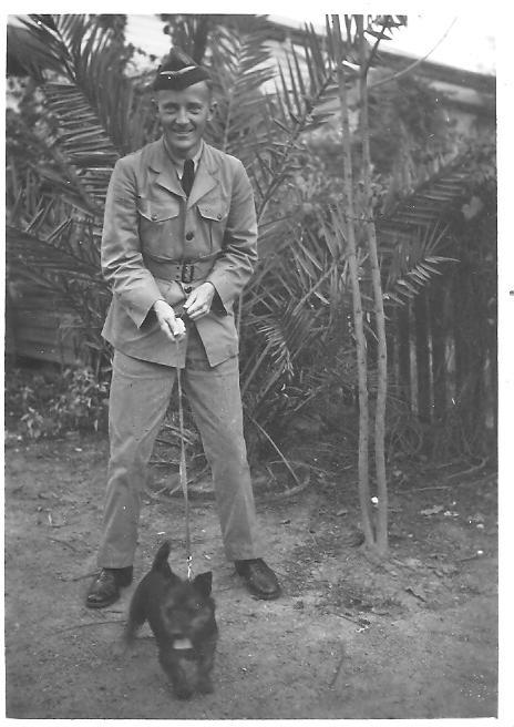 Ken Ross, Queensland, 1942.