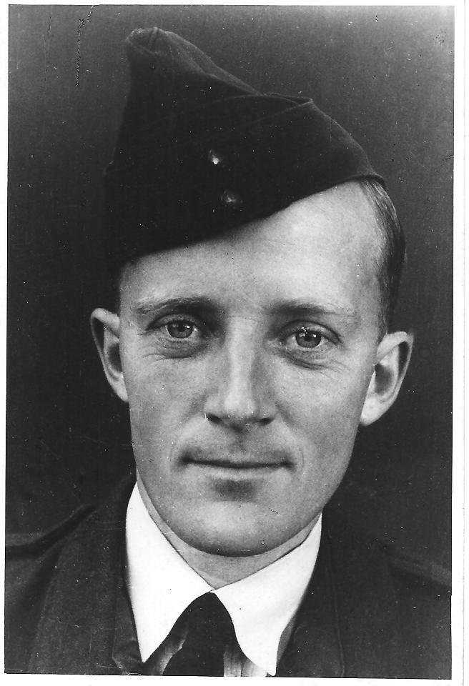 Ken Ross in the Royal Australian Air Force.