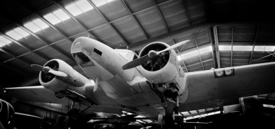 AV Roe Anson 652-A, an aircraft Ken flew during WWII. Photo courtesy of Camden Museum of Aviation.