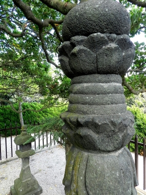 Monument to Magome Oyuki.